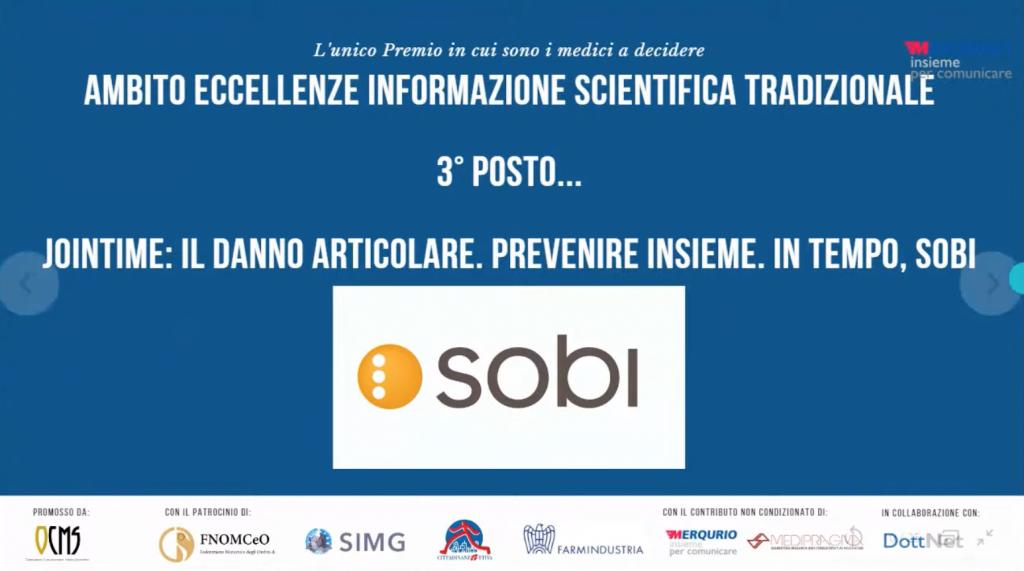 premio eccellenze dell'informazione scientifica 2020